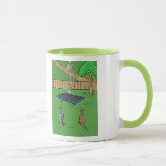 Kangaroo Trampoline Bounce Mug