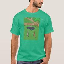 Kangaroo Trampoline Bounce T Shirt