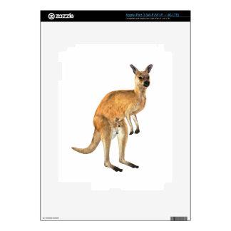 Kangaroo with Baby Joey Skins For iPad 3