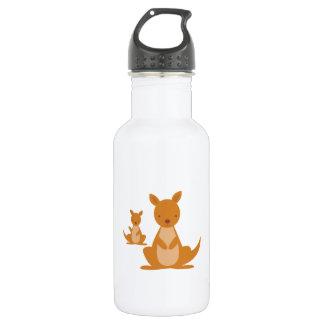 Kangaroos 18oz Water Bottle