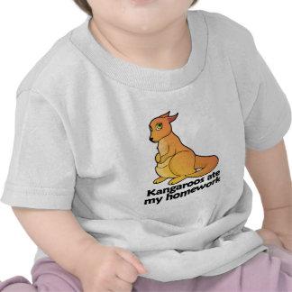KangaROOS comió mi preparación Camiseta