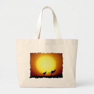 KangaROOS contra el sol del desierto Bolsa