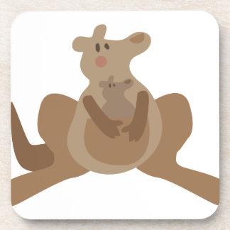 Kangaroos Drink Coaster