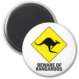 Kangaroos Fridge Magnet