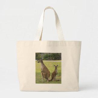 Kangaroos Large Tote Bag