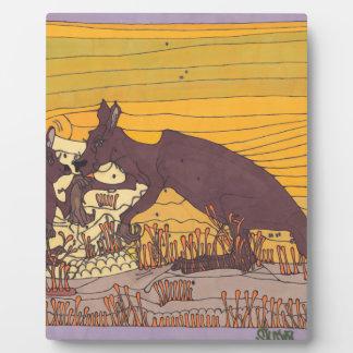 Kangaroos Plaque