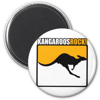 Kangaroos Rock! Magnet