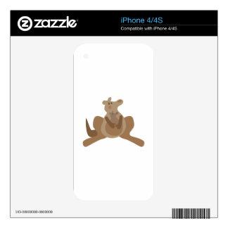 Kangaroos Skin For The iPhone 4