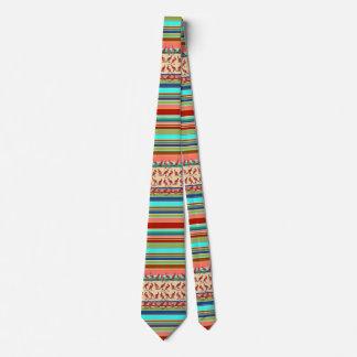 Kangaroos & Stripes Pattern + your ideas Neck Tie