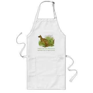 Kangeroo Quote Long Apron