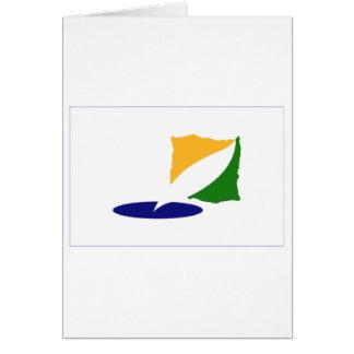 Kangwon-do Flag Card