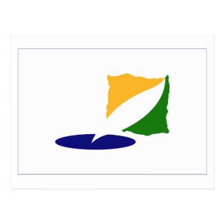 Kangwon-do Flag Postcard
