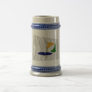 Kangwon-do Waving Flag Beer Stein
