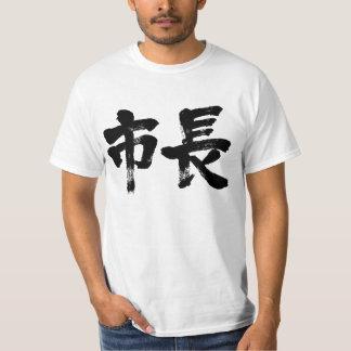 [Kanji] alcalde Camisas