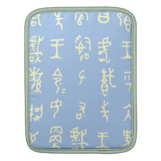Kanji Ancient Chinese Characters ipad case Sleeve For iPads