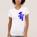 [Kanji] Blue Shirts brushed kanji