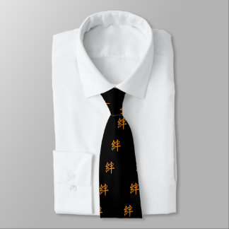 Kanji Characters for Bond in Friendship Tie