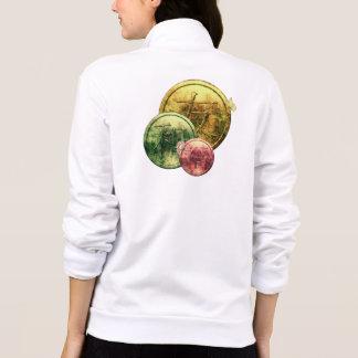 Kanji Coins & Wildflowers Jacket