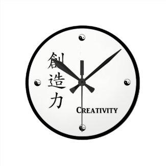 Kanji Creativity Clock