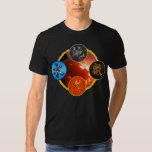 Kanji: Cuatro elementos - camiseta #7 Camisas