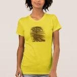 Kanji de Reiki en amarillo Camisetas