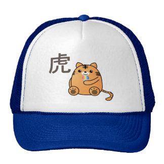Kanji del amor del tigre gorra