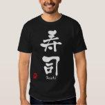 KANJI del sushi Playeras