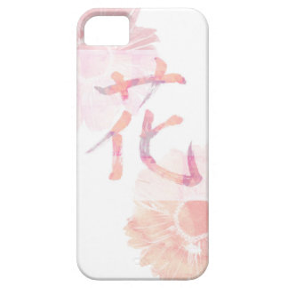 Kanji Design/flower with beautiful watercolor iPhone SE/5/5s Case