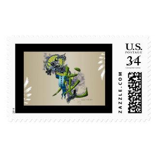 Kanji Dragon Postage