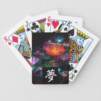 Kanji Dream  Fractal Playing Cards