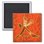 Kanji: Fuego - imán #1