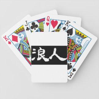 KANJI goods RONIN Bicycle Playing Cards