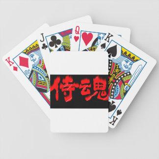 KANJI goods Samurai Sprits (samurai damashii) Card Decks