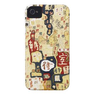 Kanji iPhone 4 Protectores