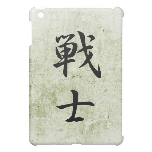 Kanji japonés para el combatiente - Senshi