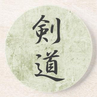 Kanji japonés para Kendo - Kendou Posavasos Para Bebidas
