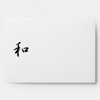 Kanji japonés para la armonía - Wa