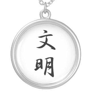 Kanji japonés para la civilización - Bunmei Grimpolas