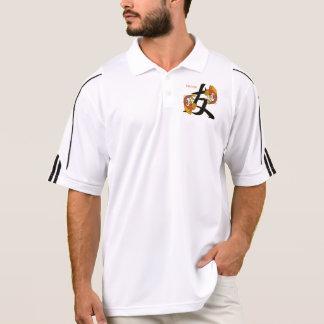 Kanji Koi Fish Friend Polo Shirts