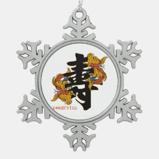 Kanji Koi Fish Longevity Ornament
