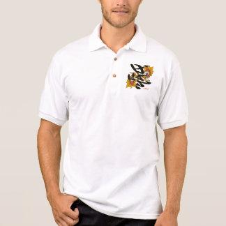 Kanji Koi Fish Love Polo Shirts