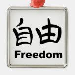 Kanji - libertad ornamentos para reyes magos