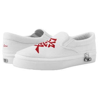 Kanji Love custom shoes