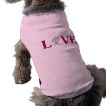 Kanji Love pet clothing
