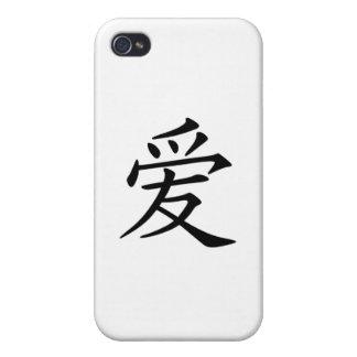 Kanji Love Symbol iPhone 4/4S Case