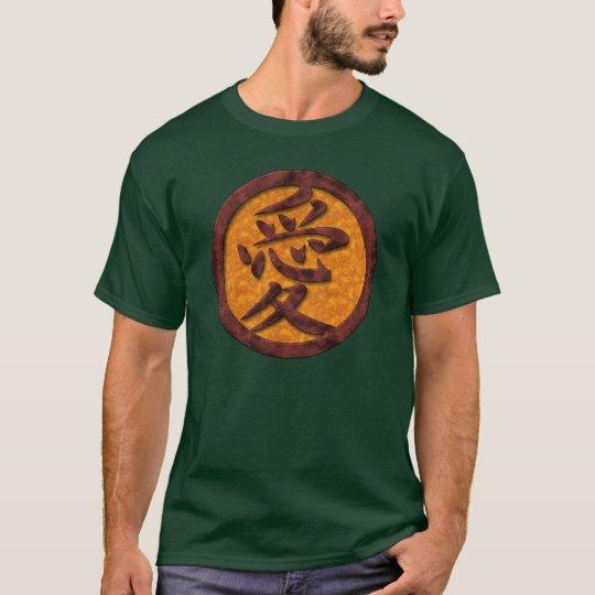 Kanji Love Symbol T-Shirts