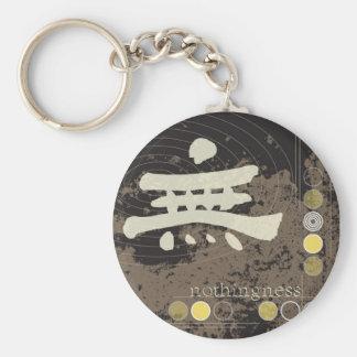 Kanji, Nothingness Design Keychain