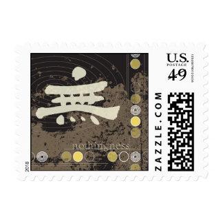 Kanji Nothingness Design Stamp