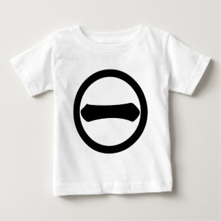 Kanji numeral one in circle baby T-Shirt