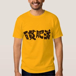 [Kanji] obese and corpulent Tshirts